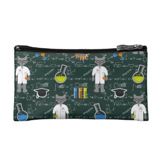 Clutch Bag Professor Cat Cosmetic Bag