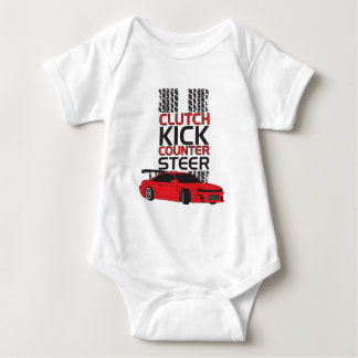 Clutch Kick Drift Baby Bodysuit