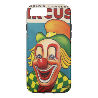 Clyde Beatty & Cole Bros Circus Poster iPhone 8/7 Case