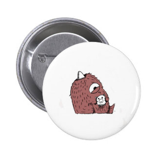 Clyde Doesn't Have Enough For His Videogame! 6 Cm Round Badge