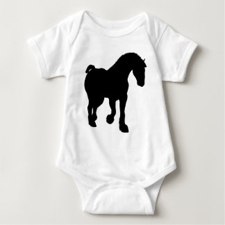 Clydesdale Baby Bodysuit