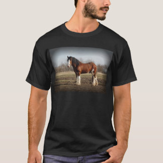 clydesdale black border T-Shirt