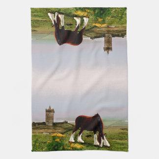 Clydesdale Castle Tea Towel