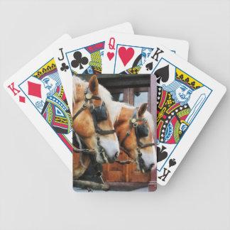 Clydesdale Closeup Poker Deck