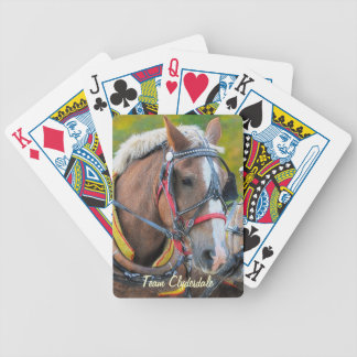 Clydesdale Draft Horse Ultimate Designer Pack Poker Deck