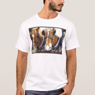 Clydesdale Draft Horses T-Shirt