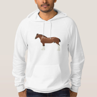 Clydesdale Horse Hoodie