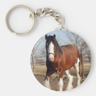 Clydesdale keychain