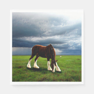 Clydesdale Storm Disposable Napkin