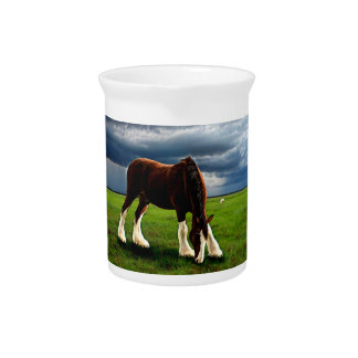 Clydesdale Storm Pitcher
