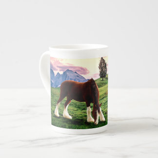 Clydesdale Sunset Tea Cup