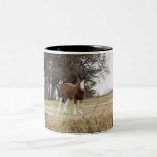 Clydesdale Two-Tone Coffee Mug