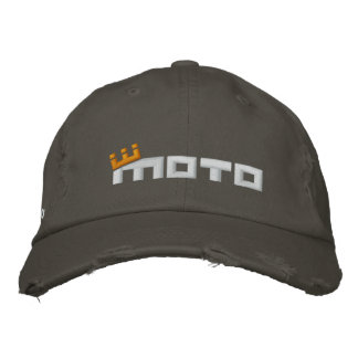 CM Moto Logo Embroidered Baseball Cap