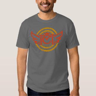 CM Winged Wheel (red & orange) T-Shirt