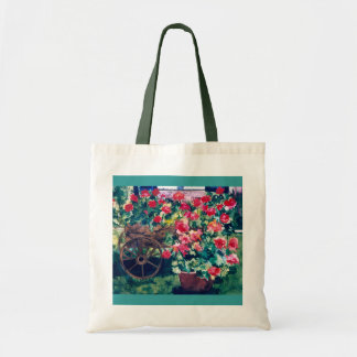 CMCarlsonCluster of Geraniums Tote Bag