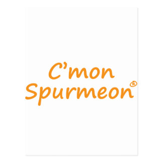 C'mmon Spurmeon motivational product Postcard