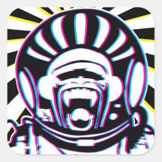 CMonkeYK Square Sticker