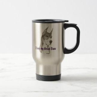 CMtMrl Dots love - Customized Stainless Steel Travel Mug