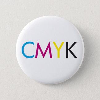 cmyk 6 cm round badge