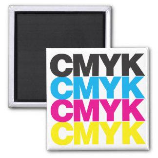 CMYK CMYK SQUARE MAGNET