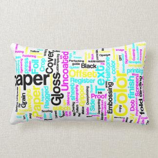 CMYK Designers Pillow