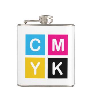 CMYK HIP FLASK
