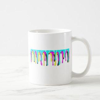 CMYK paint splash Coffee Mug