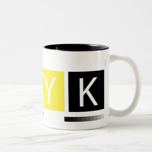 CMYK Pre-Press Colors Coffee Mug