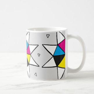 CMYK Star Wheel Coffee Mug