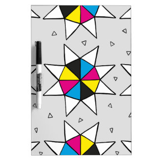 CMYK Star Wheel Dry Erase Board