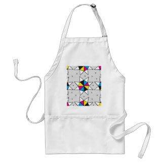 CMYK Star Wheel Standard Apron