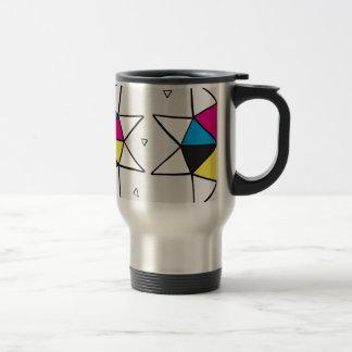 CMYK Star Wheel Travel Mug