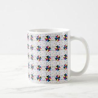 CMYK Star Wheels Coffee Mug