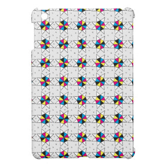 CMYK Star Wheels iPad Mini Covers