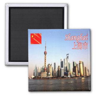 CN - China - Shanghai skyline Magnet