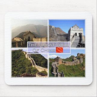 CN China - The Great Wall Of China - Mutiany Mouse Pad