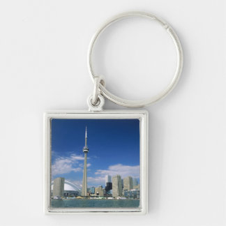 CN Tower and Skydome in Toronto, Ontario, Key Ring