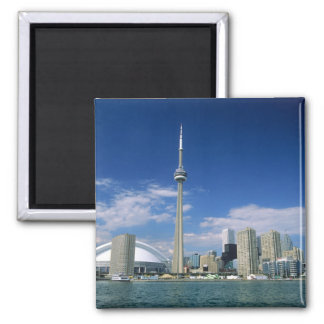 CN Tower and Skydome in Toronto, Ontario, Magnet