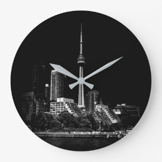 CN Tower Toronto Canada 1 Large Clock