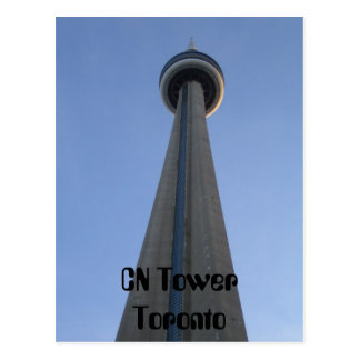 CN Tower Toronto Postcard