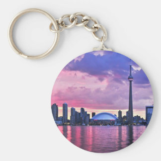 CN Tower : View from Center Island Toronto Key Ring