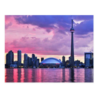 CN Tower : View from Centre Island Toronto Postcard