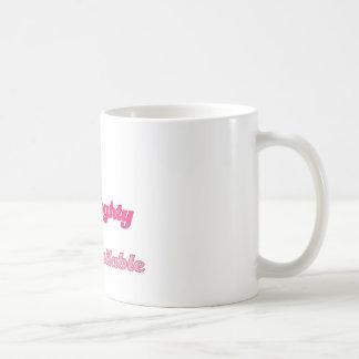 CNA Cute, Naughty, and Available Coffee Mug