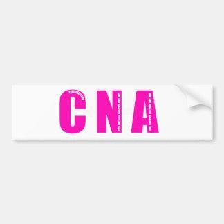 cna parents bumper sticker