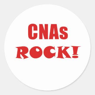 CNAs Rock Classic Round Sticker