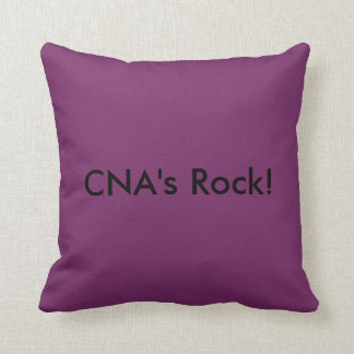CNA's Rock! Throw Pillow