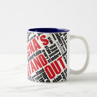 CNA's Stand Out Two-Tone Coffee Mug