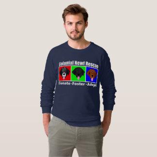 CNR Men's American Apparel Raglan Sweatshirt Dark