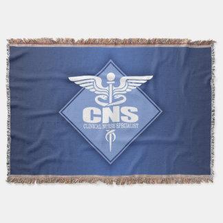 CNS Clinical Nurse Specialist Throw Blanket