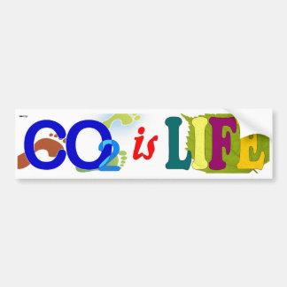 CO2 is Life Bumper Sticker